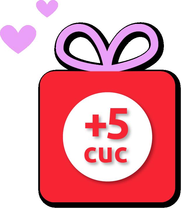 Recarga Cubacel +5 CUC gratis