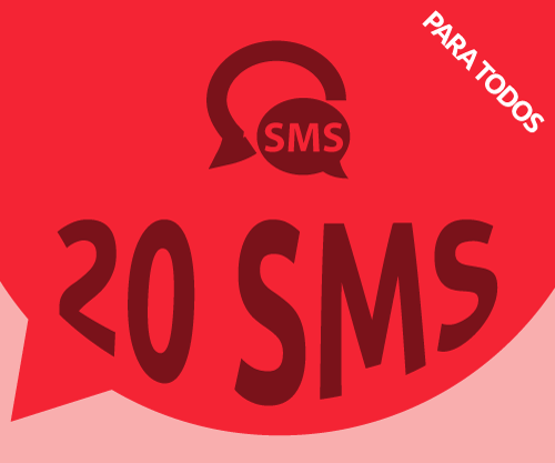 20 SMS de regalo a Cuba